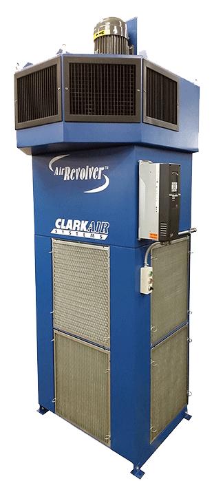 Industrial Air Cleaner AR8000 Air Revolver weld fume air purifier